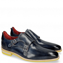 Monks Dave 3 Moroccan Blue Washed