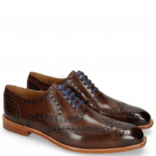 Oxford shoes Jacob 1 Dark Brown