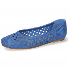 Ballet Pumps Melly 1 Open Weave Neptune