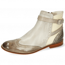 Ankle boots Amelie 11 Vegas Stone Oxygen White Smoke