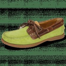 Boat shoes Jason 1 Suede Pattini New Grass Rio Mogano