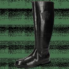 Boots Susan 7 Vegas Turtle Black M&H Crown