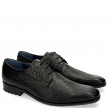Derby shoes Rico 1 Venice Haina Print 316 Black