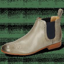Ankle boots Sally 16 Imola Smoke Elastic Navy