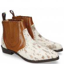 Ankle boots Marlin 3 Hairon Jersey Metallic Brown White Wood