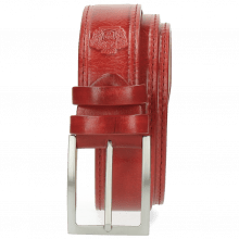 Belts Larry 1 Red Buckle Classic