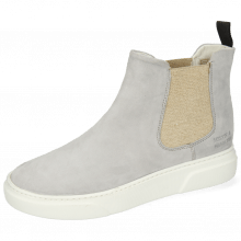 Ankle boots Hailey 2 Parma Suede French Grey Elastic Lino