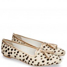 Ballet Pumps Alexa 17 Hairon Wildcat Tassel Talca Rose
