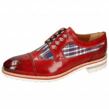 Derby shoes Tom 22 Ruby Textile Check Multi