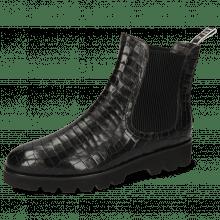 Ankle boots Susan 100  Crock Black New Loop M&H