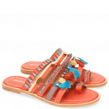Mules Lela 5 Kid Orange LS