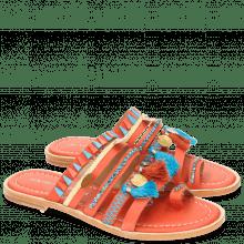 Mules Lela 5 Kid Orange LS