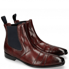 Ankle boots Elvis 12 Burgundy Dark Finish