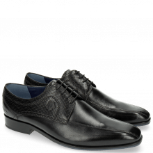 Derby shoes Rico 4 Rio Perfo Black