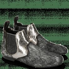 Ankle boots Sonia 4 Hairon Breeze Silver Cromia Gunmetal