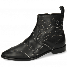 Ankle boots Tracey 4 Nappa Black Rivets