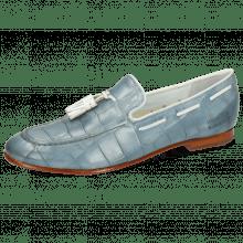 Loafers Monica 9 Vegas Turtle Sky Blue