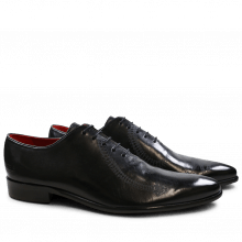 Oxford shoes Toni 26 Black Lasercut Snake