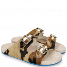 Mules Robert 3 Hairon Camo White
