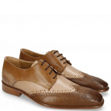 Derby shoes Clark 1 Python Nougat Powder