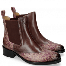 Ankle boots Elaine 6 Wine Rio Brazil
