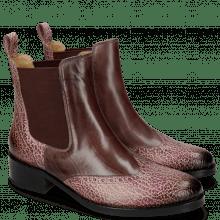 Ankle boots Elaine 6 Wine Rio Brazil