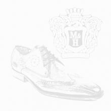 Derby shoes Toni 26 Crust Electric Blue Lasercut Snake LS Black