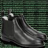 Ankle boots Susan 10 Salerno Perfo Black Elastic Black Flex