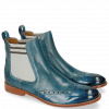 Ankle boots Amelie 5 Perfo Bluette