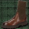 Boots Susan 69 Turtle Dark Brown Textile Brina Mokka Lining