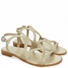 Sandals Sandra 28 Woven Mesh Pearlized