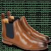 Ankle boots Susan 10 Salerno Perfo Dark Tan Elastic Navy
