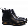 Ankle boots Tom 13 Navy Elastic Navy