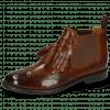Ankle boots Selina 5 Pisa Wood Elastic Dark Brown Flex