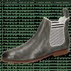 Ankle boots Susan 10 Crock Perfo Grigio Elastic Marine