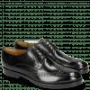 Derby shoes Amelie 3 Black Lining Rich Tan