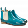Ankle boots Susan 10 Crust Turquoise Elastic Off White LS