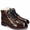 Ankle boots Trevor 5 Crock Mid Brown Lining Fur