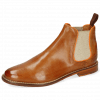 Ankle boots Selina 48 Pavia Tan Binding Fluo Orange