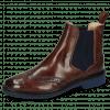 Ankle boots Selina 6 Mogano Elastic Ribbed Navy