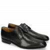 Derby shoes Xander 1 Rio Perfo Black