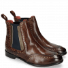 Ankle boots Daisy 4 Mogano Nappa Aztek Rivets