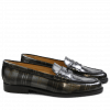 Loafers Mia 1 Brush Check Gunmetal LS