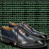 Oxford shoes Jeff 27 Grigio Helio Wine HRS