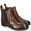 Ankle boots Daisy 4 Mogano Rivets