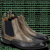 Ankle boots Xander 3 Venice Python Navy Rio Stone
