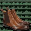 Ankle boots Erol 32 Venice Big Croco Dark Brown Wood