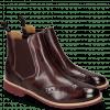 Ankle boots Selina 6 Deep Pink Elastic Burgundy