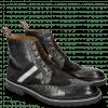 Ankle boots Eddy 26R Turtle Suede Pattini Black