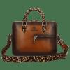 Handbags Vancouver Tan Shade Dark Brown